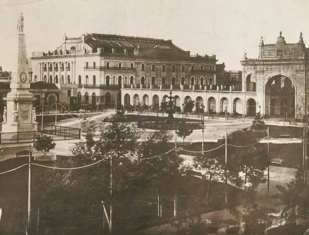 Resultado de imagen para el `primer Teatro Colon de buenos aires